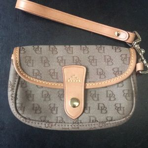 Dooney and Burke small wristlet